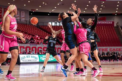 NCAA Women's Basketball   Houston Cougars v Memphis Tigers