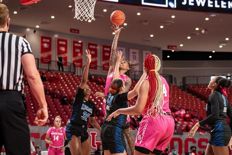 NCAA Women's Basketball | Houston Cougars v Memphis Tigers