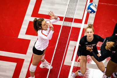 NCAA Volleyball   Houston Cougars v Texas Tech Red Raiders