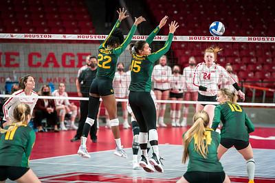 NCAA Volleyball   Houston Cougars v Baylor Bears