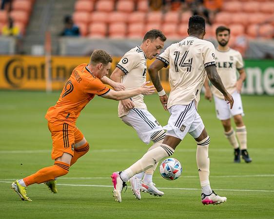 MLS 2021: Houston Dynamo FC 0:0 Los Angeles FC