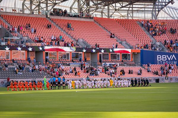 NWSL 2021: Houston Dash 1:1  Portland Thorns FC