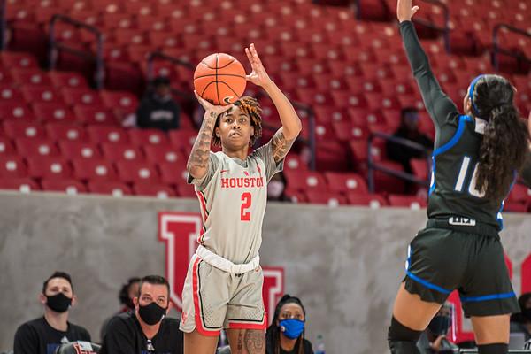 NCAA Women's Basketball | Houston Cougars v Tulsa Golden Hurricanes