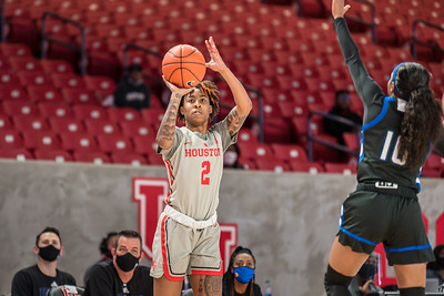 NCAA Women's Basketball | Houston Cougars v Tulsa Golden Hurricanes