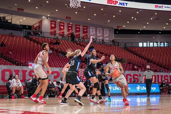 NCAA Women's Basketball   Houston Cougars v Tulsa Golden Hurricanes