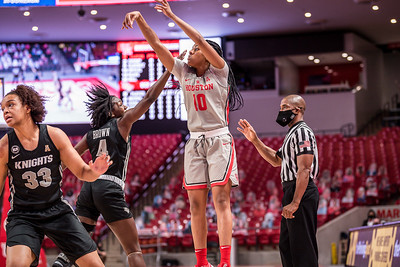 NCAA Women's Basketball | Houston Cougarts v UCF Knights