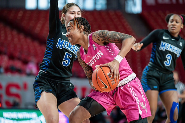 NCAA Women's Basketball | Houston Cougarts v Memphis Tigers
