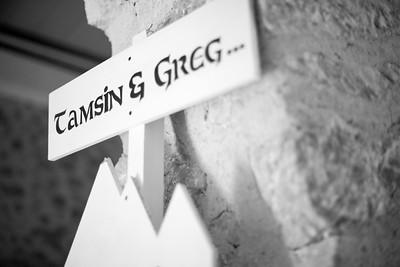 Tamsin and Greg Wedding