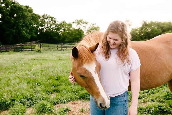 Annie with Katie