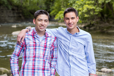 Cooper and Spencer Seide
