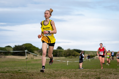 U18 Men & Women 6km during the 2021 New Zealand Cross Country Championships at Chisholm Links Golf Club, on the 7th of August 2021.  Mandatory Photo Credit: Clare Toia-Bailey / www.allisonimages.co.nz