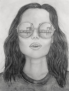 Emily - Pencil Drawing