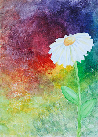 Kaleigh-Watercolor Flower
