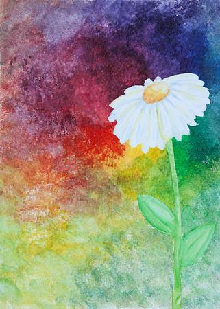 Kaleigh-Watercolor Flower