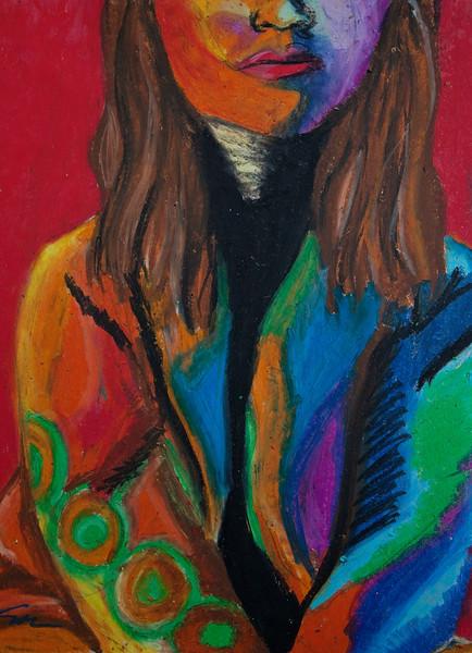 Emily - Oil Pastel
