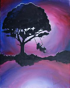 Ashley - Acrylic painting