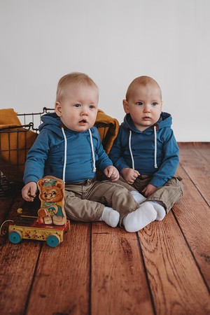 Becket and Sawyer 1yr