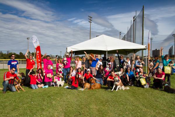 Canadian Cancer Society - Bark for Life 2013