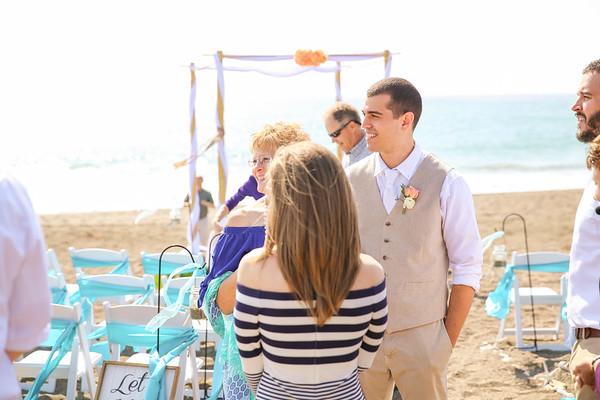 Destination Wedding In Small Coastal Towin of Cambria, CA