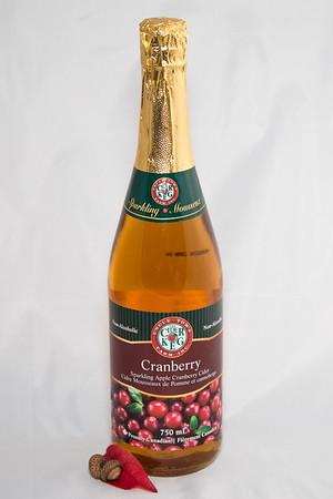 Smyth's Sparkling Apple Cranberry Cider, 750 ml, $13.00