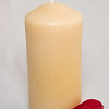 Canadiana Pure Beeswax Pillar Candle, 320 g, $20.00