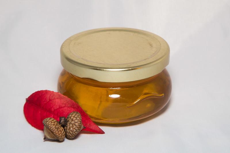 Turene Honey Jar (white liquid), 4 oz, $3.75