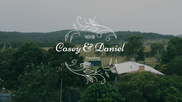 Casey and Daniel Wedding Highlights