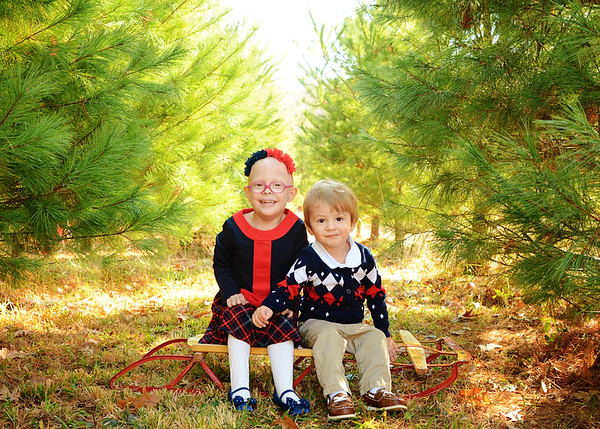Caybrie & Carson {holiday mini}