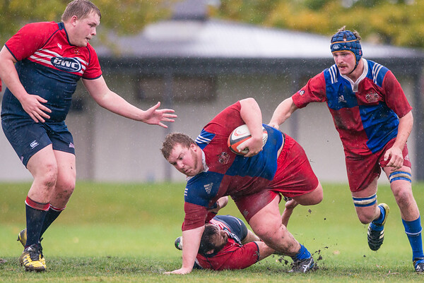Cromwell Vs Maniototo in the Central Otago Premier Rugby Competition