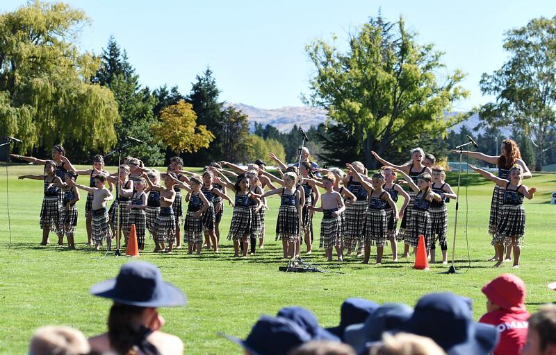 Central Otago Primary Schools Kapa Haka