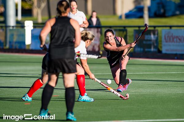 Alexandra Vs Matakanui in the Central Otago Women's Hockey