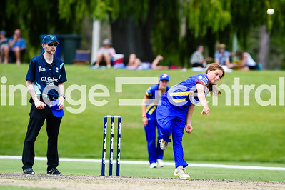 Eden Carsons, Otago Sparks Vs Northern Mystics at Molyneux Park in Alexandra.  30 December 2018.  Images copyright:  Clare Toia-Bailey / www.image-central.co.nz