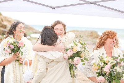 Small Wedding in California Coastal Town
