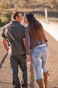 Happy Newly Engaged Couple