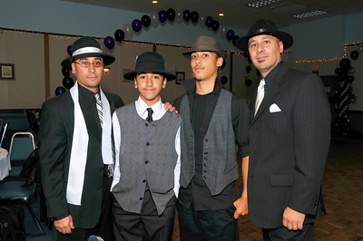 The Castillo Men....David, Jacob, Andrew and Jonathan