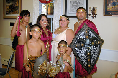 Lisa with her brother Carlos, sister-in-law Rosie, and Nephews, Caleb, Jeremiah and Rickie.
