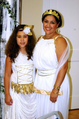 My goddaughter Jocelyn and me.