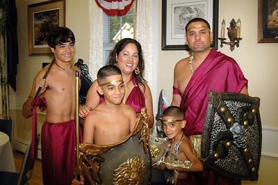 The Acevedo Clan!  Rickie, Rosie, Jeremiah, Caleb and Carlos.