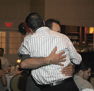Hugging brother number 2...Obed Rios.