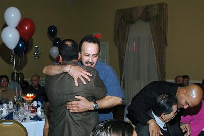 Hugging brother number 1....Benjamin Rios.