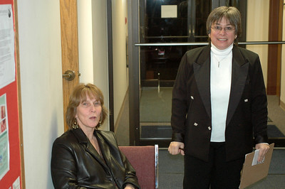 Diane Dunn and Patricia Lizotte