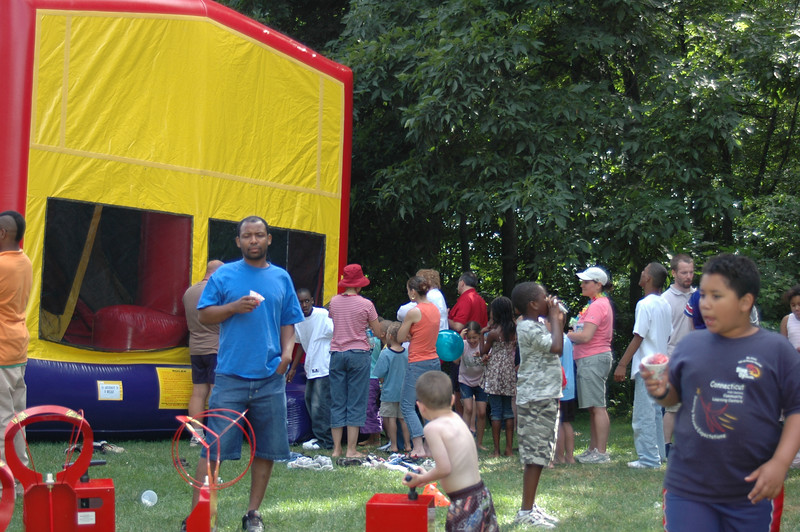 Lots of fun at our church family picnic....