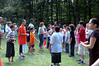 Egg tossing contest.....(My Andrew - the one in the bright orange shirt!!!)
