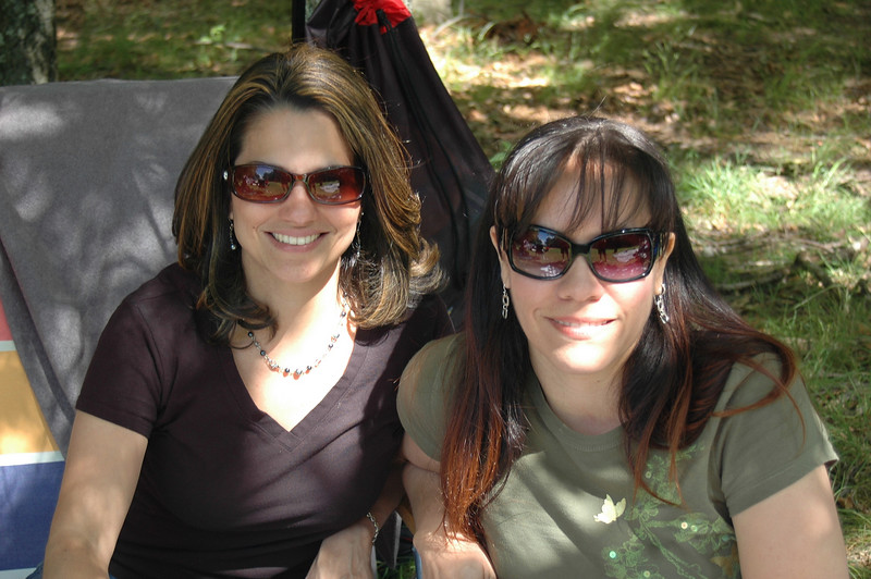 Boricuas...Yanira Rivera and Rebecca Romero (lovely ladies)!!!