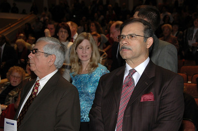 Rev. Raul Anduaga and Elder Ramon Romero (Kerry Snyder in the middle).