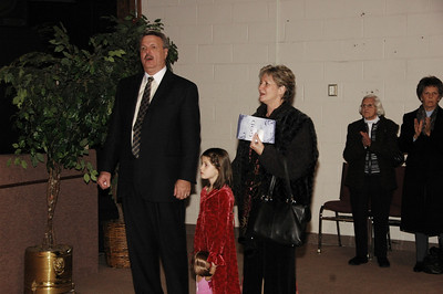Pastor with his Grandaughter Kelly and Lady Nita.