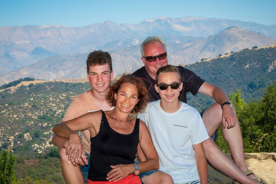 Family from Munich on Holiday in US