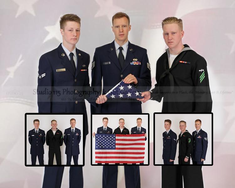 Hart Boys-16x20-6-flag