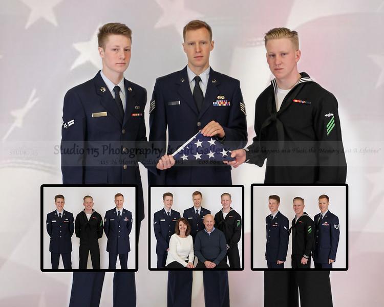 Hart Boys-16x20-5-flag