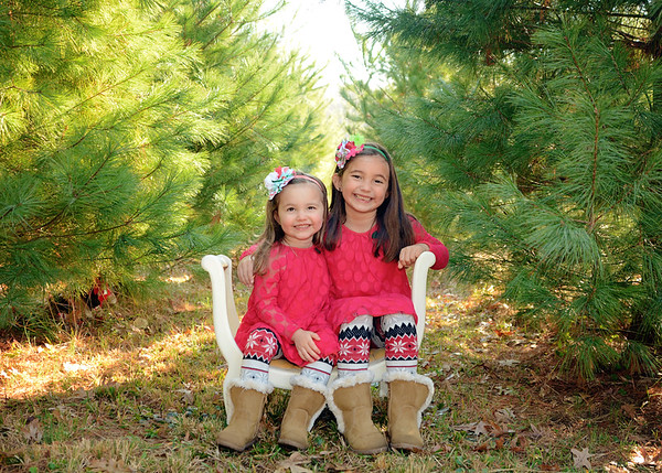 Finley & Bayleigh {holiday mini}